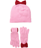 Kate Spade New York Kids - Bow Hat and Gloves Set