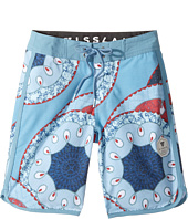 VISSLA Kids - Sandstorm Four-Way Stretch Boardshorts 17