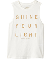 Spiritual Gangster Kids - Shine Your Light Muscle Tank Top (Big Kids)