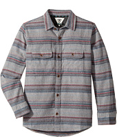 VISSLA Kids - Fort Point Long Sleeve Flannel (Big Kids)