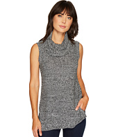 TWO by Vince Camuto - Sleeveless Waffle Stitch Yoke Cowl Neck Pullover