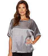 TWO by Vince Camuto - Casual Satin Relaxed Tee