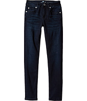 7 For All Mankind Kids - Denim Jeans in Blue Black River (Big Kids)