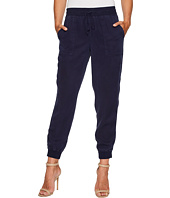 TWO by Vince Camuto - Tencel Twill Ribbed Jogger