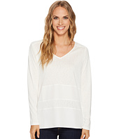 Tribal - Long Sleeve V-Neck Top w/ Combo