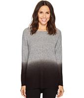 Tribal - Long Sleeve Dip-Dye Crew Neck Sweater