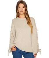 See by Chloe - Lace-Up Sleeves Sweater