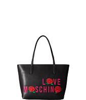 LOVE Moschino - Logo Rose Tote