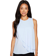 Vince Camuto Specialty Size - Petite Sleeveless Front Double Layer Blouse
