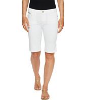 Ivanka Trump - Denim Bermuda Shorts in White