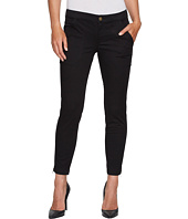 Ivanka Trump - Cotton Woven Denim Pants in Black