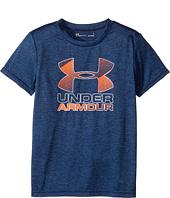 Under Armour Kids - Big Logo Hybrid Tee (Little Kids/Big Kids)