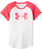 Under Armour Kids - Big Logo Raglan Tee (Little Kids)