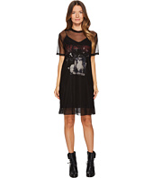 McQ - Trompe D'Oeil Fear Nothing Dress