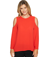 Vince Camuto - Bell Sleeve Cold Shoulder Blouse