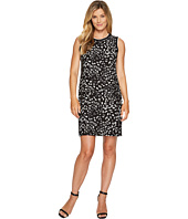 Vince Camuto - Sleeveless Animal Whispers Shift Dress