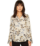 Vince Camuto - Flared Sleeve Timeless Bouquet Button Down Blouse