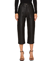 McQ - Cropped '59 Leather Pants