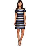 Vince Camuto - Cap Sleeve Modern Chords Shift Dress