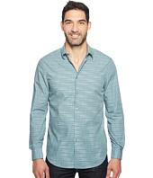 Perry Ellis - Space Dye Enlarged Stripe Shirt