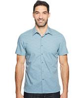 Perry Ellis - Short Sleeve Striped Wave Shirt