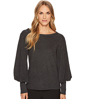 Vince Camuto - Bubble Drama Sleeve Crew Neck Sweater