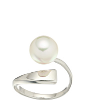 Majorica - Round Pearl Sterling Silver Wave Ring