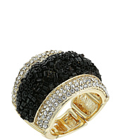 GUESS - Crushed Stone with Pave Ring