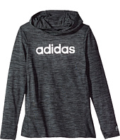 adidas Kids - Space Dyed Melange Hoodie (Big Kids)