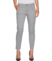 Ivanka Trump - Cotton Woven Denim Pants in Storm