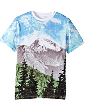 Stella McCartney Kids - Arrow Mountain Landscape Printed T-Shirt (Toddler/Little Kids/Big Kids)