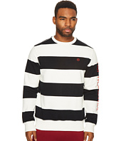HUF - Catalina Stripe Crew Fleece