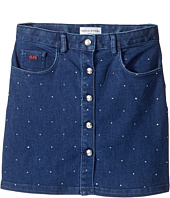 Sonia Rykiel Kids - Embellished Denim Mini Skirt (Big Kids)