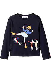 Sonia Rykiel Kids - Long Sleeve T-Shirt w/ Rykiel Girl & Dogs (Toddler/Little Kids)