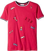 Sonia Rykiel Kids - Short Sleeve Rykiel Motives Patch Dress (Big Kids)