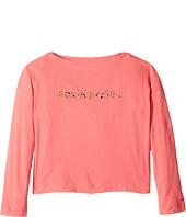 Sonia Rykiel Kids - Long Sleeve Logo T-Shirt (Big Kids)
