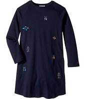 Sonia Rykiel Kids - Long Sleeve Dress w/ Embellished Insect Design (Big Kids)