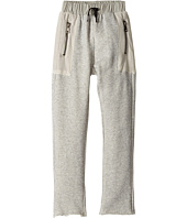 Hudson Kids - High Tech French Terry Mesh Jogger in Grey Heather (Big Kids)