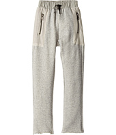 Hudson Kids - High Tech French Terry Mesh Jogger in Grey Heather (Toddler/Little Kids/Big Kids)