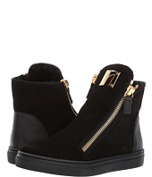 Giuseppe Zanotti Kids - Larry Jr. Velour Sneaker (Toddler/Little Kid)