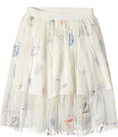 Stella McCartney Kids - Darci Tulle Skirt with Skates Embroidery (Toddler/Little Kids/Big Kids)