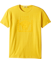 Versace Kids - Short Sleeve Medusa Logo T-Shirt (Big Kids)