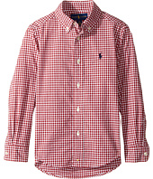 Polo Ralph Lauren Kids - Gingham Cotton Poplin Top (Little Kids/Big Kids)