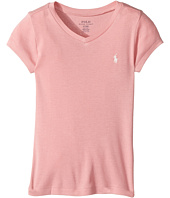 Polo Ralph Lauren Kids - Pima Cotton Blend V-Neck Tee (Little Kids)