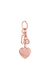 Tory Burch - Logo & Heart Metal Key Fob