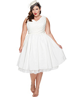 Unique Vintage - Plus Size Marseille Tea Length Dress