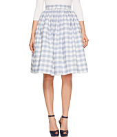 Unique Vintage - High Waist Swing Skirt