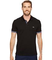 Lacoste - Short Sleeve Semi Fancy 2 Ply Pique Polo - Slim Fit