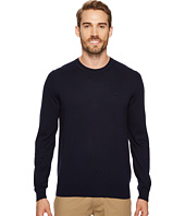 Lacoste - 100% Cotton Jersey Crew Neck Sweater