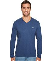 Lacoste - Long Sleeve V-Neck Tee Shirt